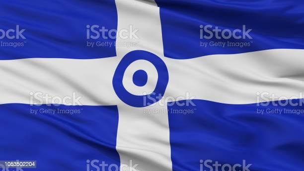 Hellenic Air Force 1973 1978 Flag Closeup