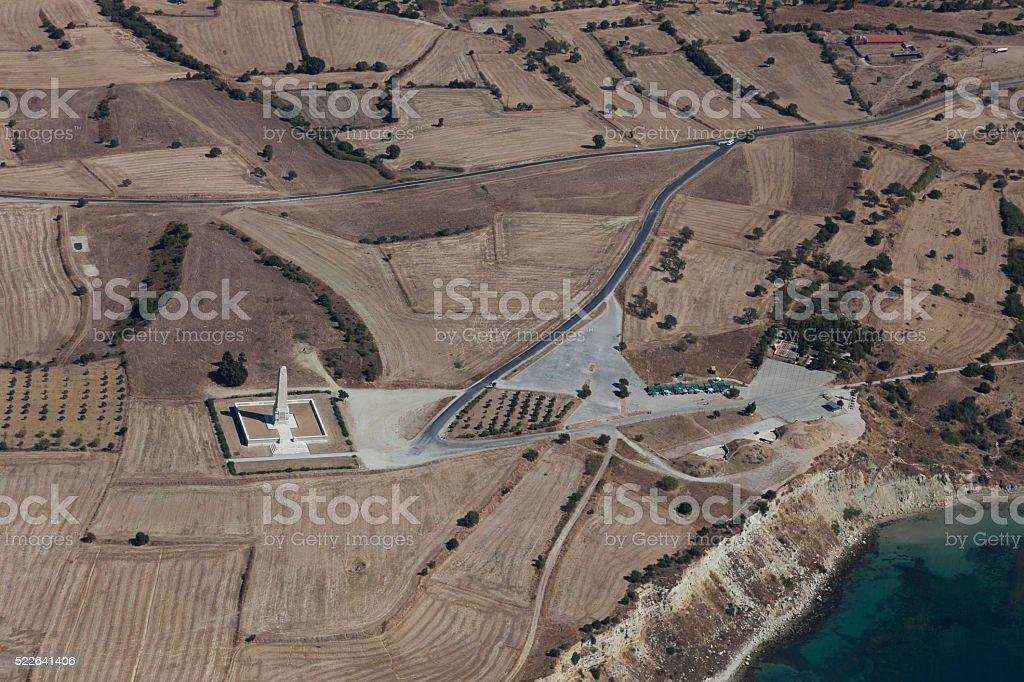 Helles Memorial Gallipolli penissula de dessus, Çanakkale Turquie - Photo
