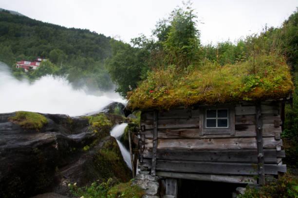 Hellesylt, mehr Og Romsdal, Norwegen – Foto