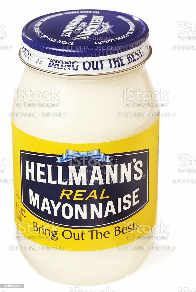 Hellmann's Real Mayonnaise royalty-free stock photo