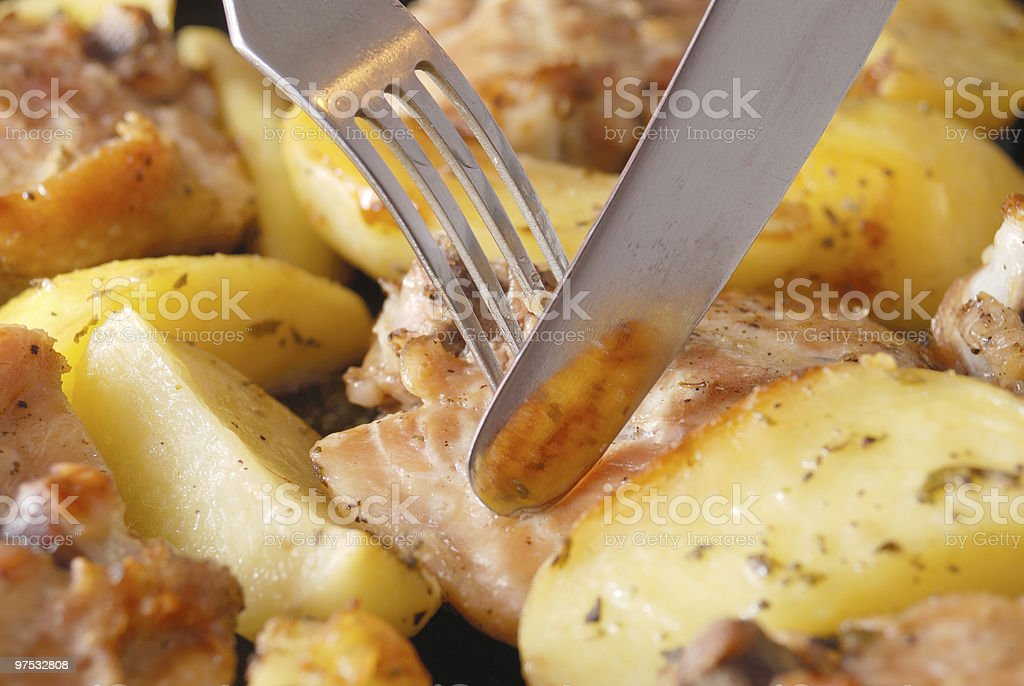 Hello, cholesterol royalty-free stock photo
