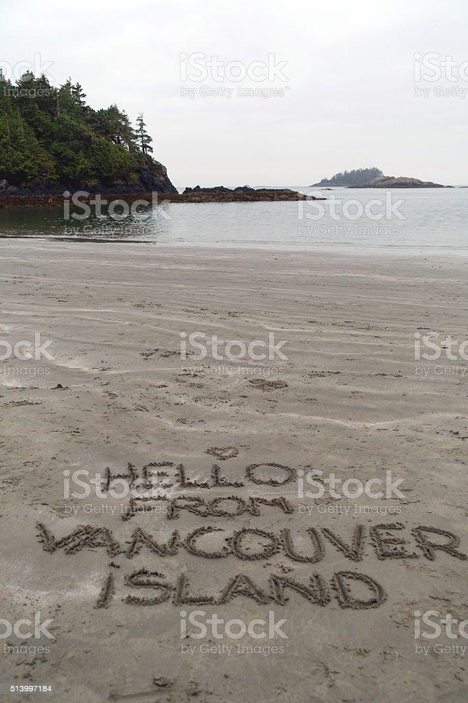 Hallo von Vancouver Insel – Foto