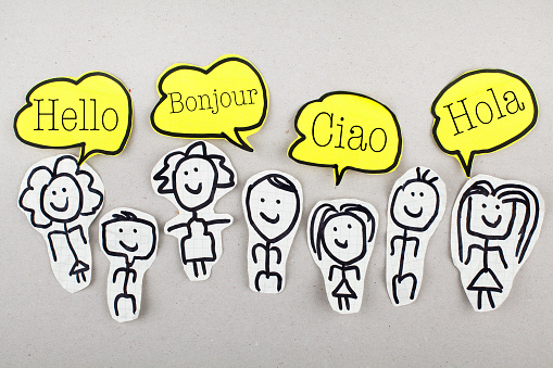 Hello In Different Languages Stock Photo - Download Image Now