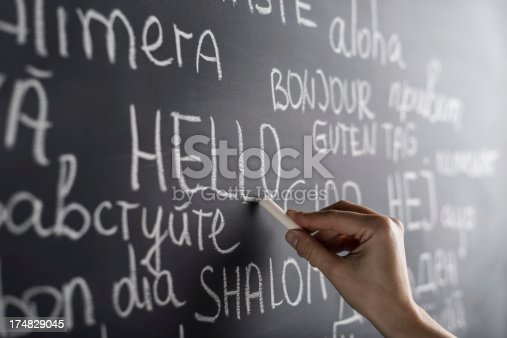 istock Hello in many languages 174829045