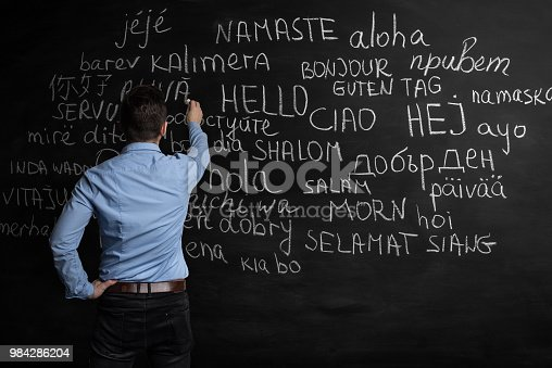 istock Hello in many languages 984286204