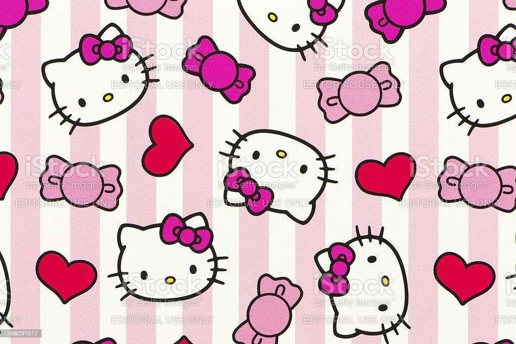 Foto De Hello Kitty Padrao E Mais Fotos De Stock De Animal Istock