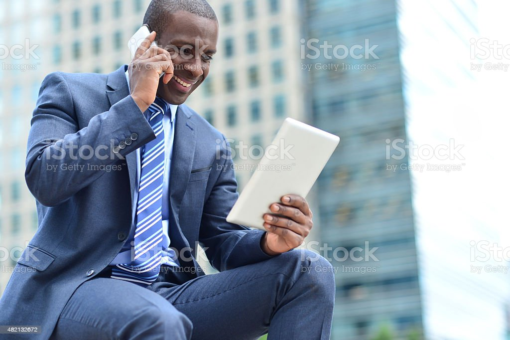 Hello mate, i am looking your mail here royalty-free stock photo