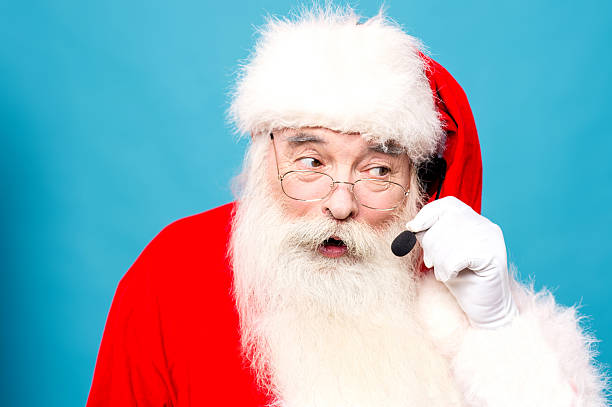 Hello ! Merry Christmas ! stock photo
