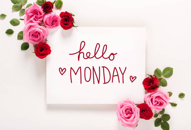 Hello monday message with roses and leaves picture id952586514?b=1&k=6&m=952586514&s=612x612&w=0&h=kyem yj1k5eh4pooyphcifuesxipl63yfcgvvshbqbq=