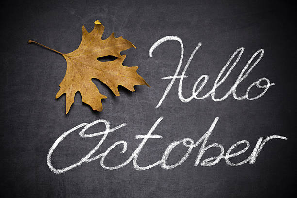 hallo oktober - hello stock-fotos und bilder