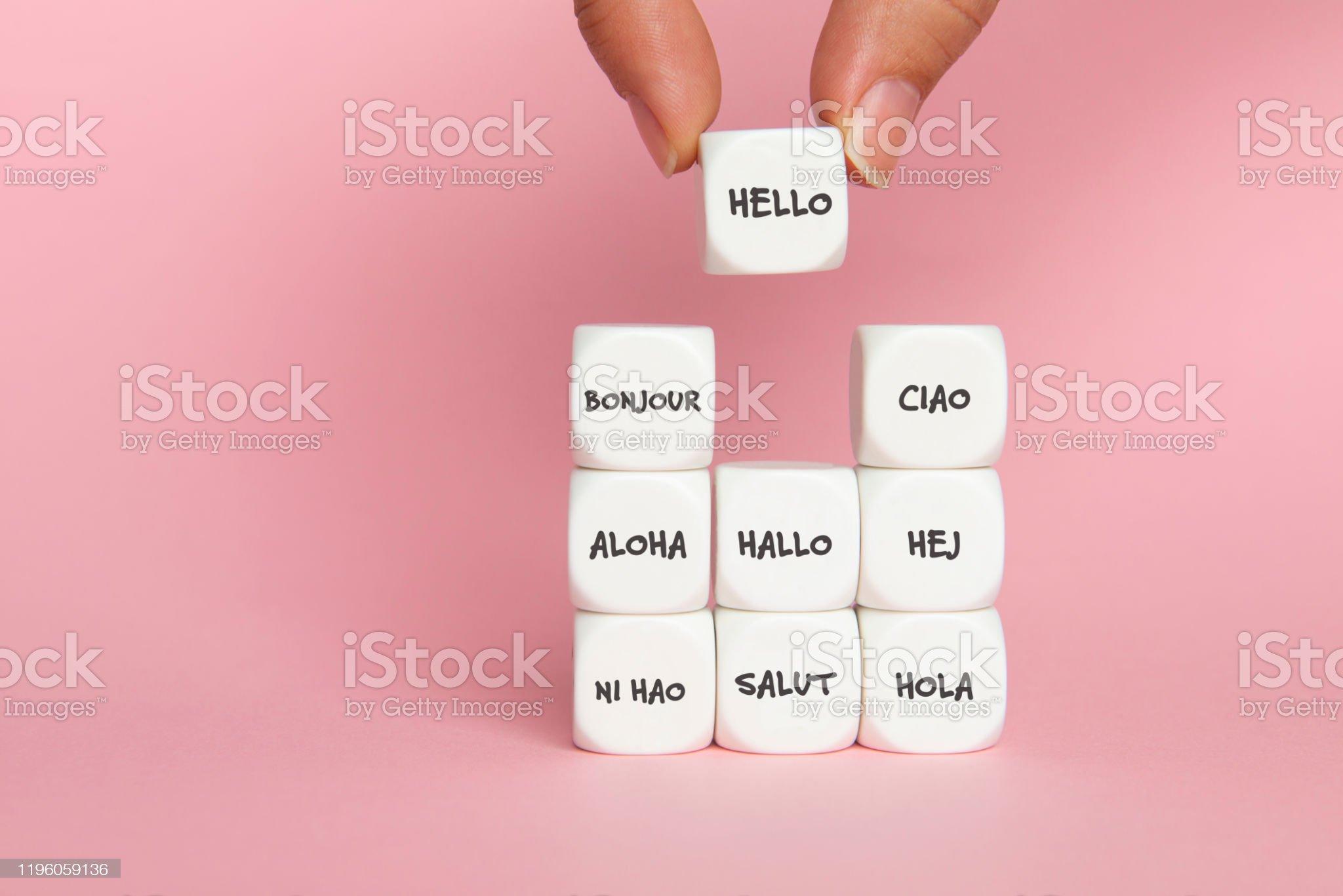 Hola - Foto de stock de Acabar libre de derechos