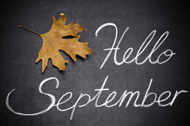 hallo september - hello stock-fotos und bilder
