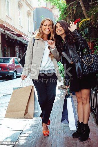 862201618 istock photo Hello! We are shopping 536081435