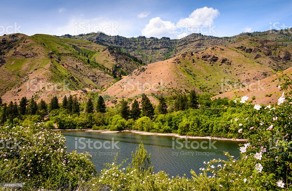 Hells Canyon National Recreation Area stock photo