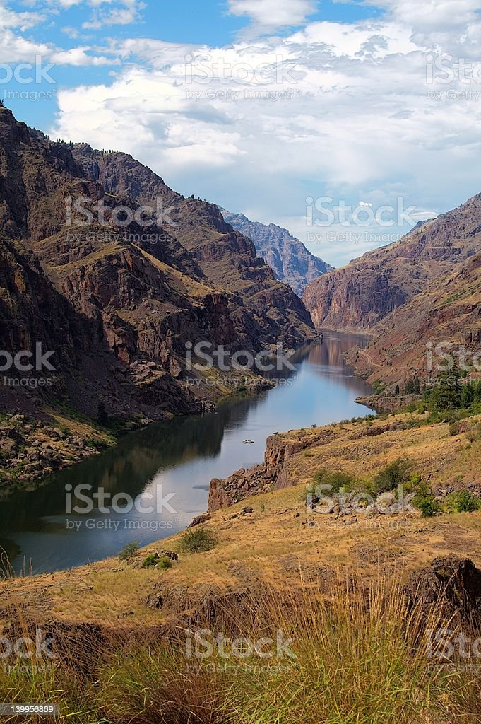 Hell's Canyon royalty-free stock photo