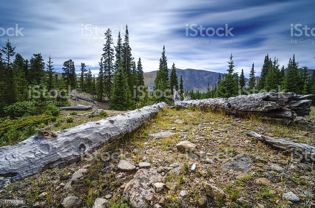 Hell's Hole Trail Colorado royalty-free stock photo