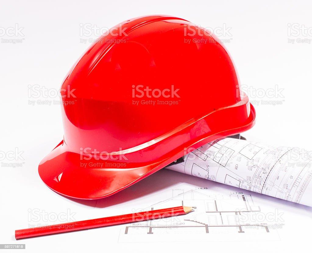 Helm-Gebäude. Lizenzfreies stock-foto