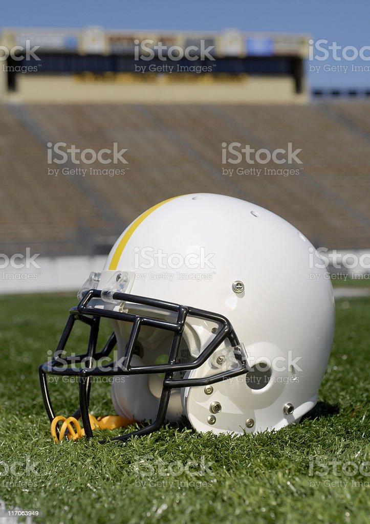 Helmet in Stadium royalty-free stock photo