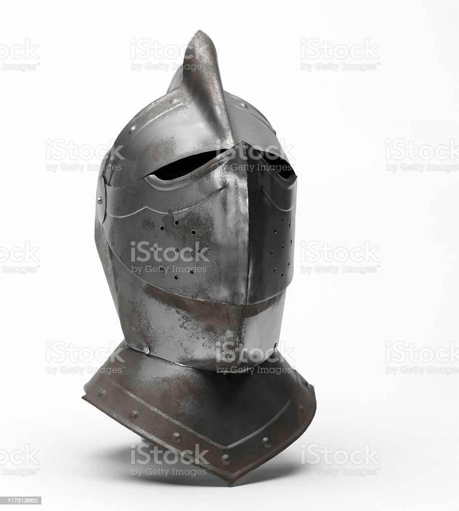 helmet medieval royalty-free stock photo
