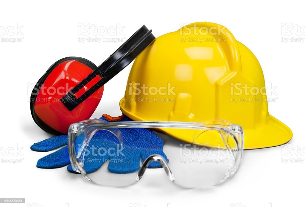Helmet stock photo