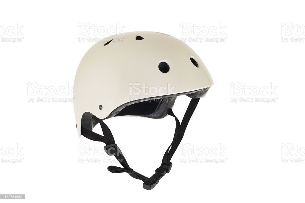 Helmet With Clipping Path royalty-free stock photo