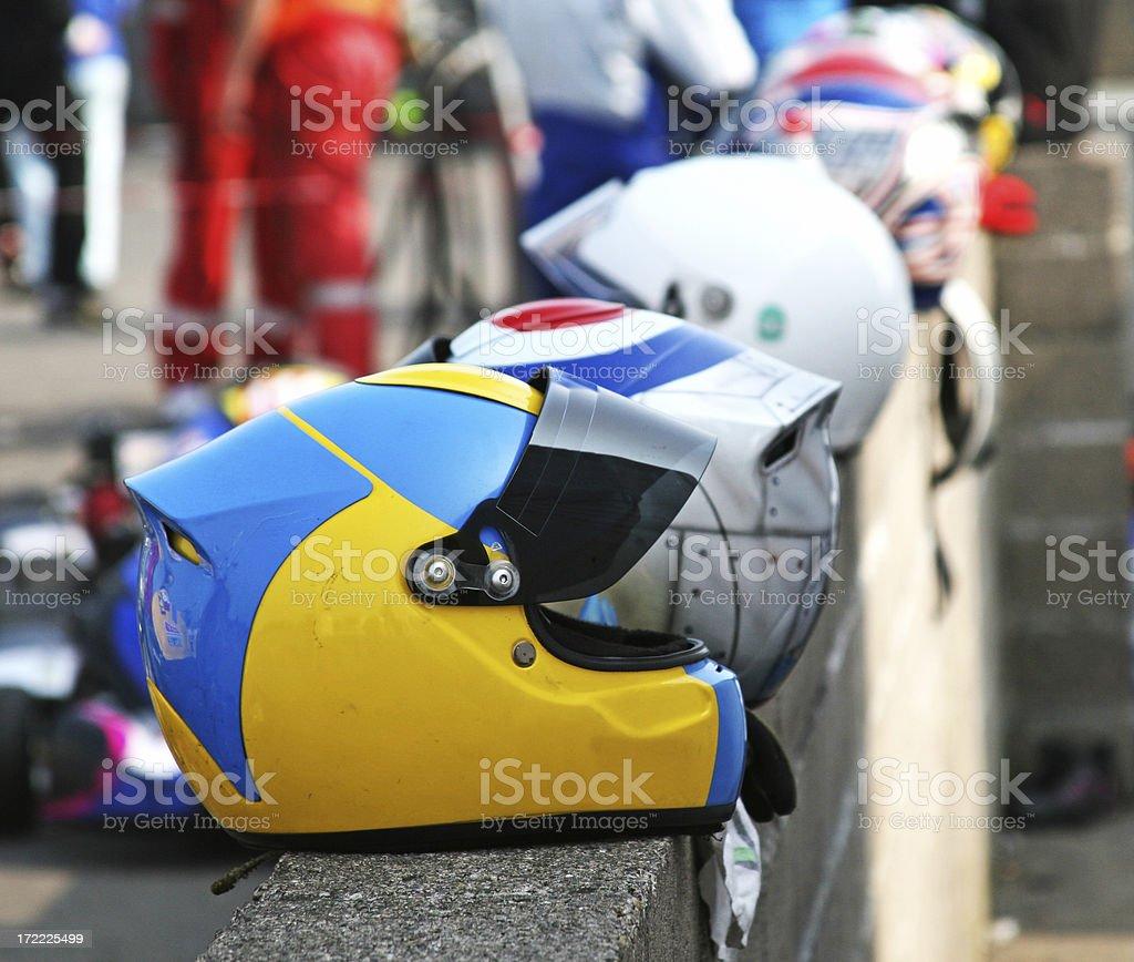 Helmets royalty-free stock photo