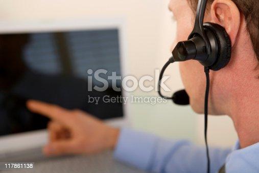 istock Help Desk 117861138