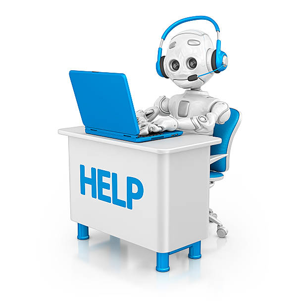 help desk - clip art stock photos and pictures