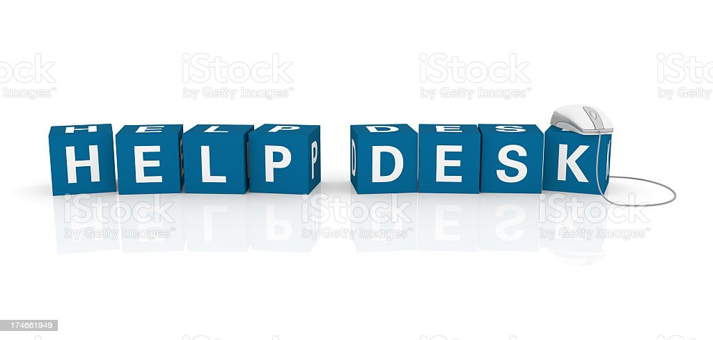 Help Desk royalty-free stock photo