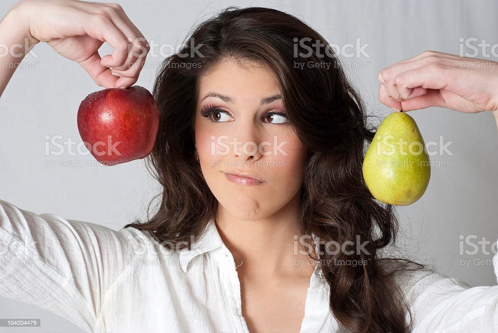 Help Her to Decide! stock photo