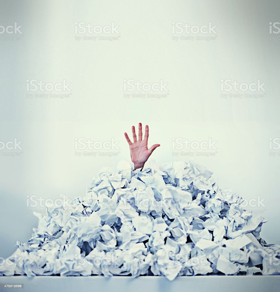 Help! I'm drowning in paperwork Cropped shot of a businessman buried under a pile of crumpled up paperworkhttp://195.154.178.81/DATA/i_collage/pi/shoots/782998.jpg 2015 Stock Photo