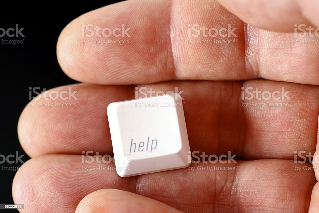 Help is on hand royalty-free stock photo