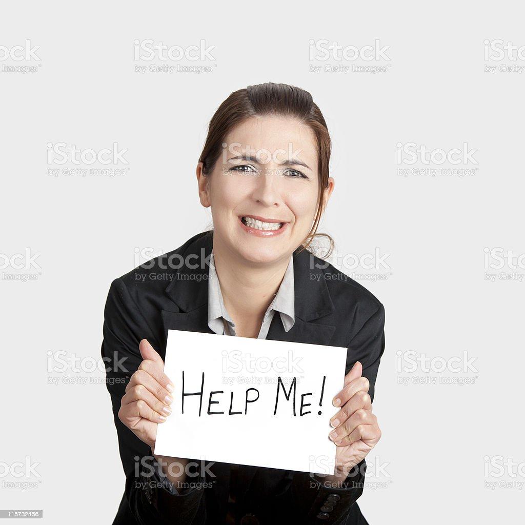 Help me please! stock photo