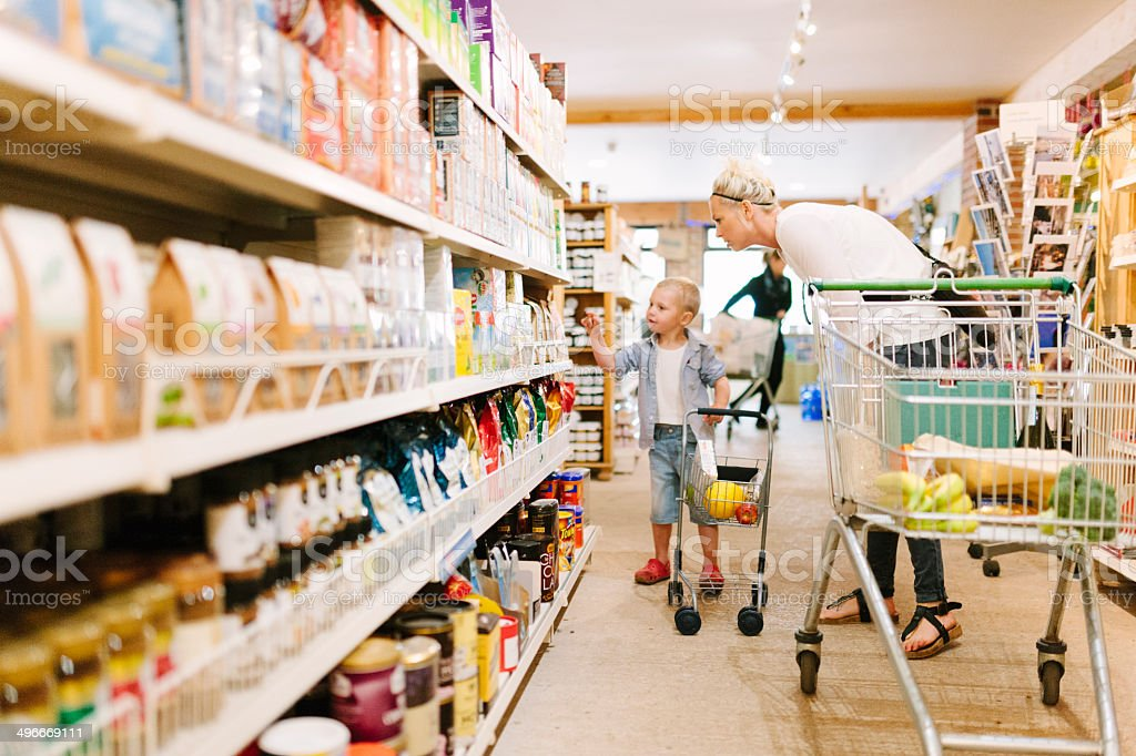 Help shopping stock photo