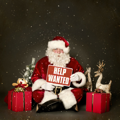 Christmas Help Wanted.Help Wanted Stock Photo Download Image Now Istock