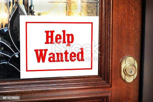 istock Help Wanted 961629930