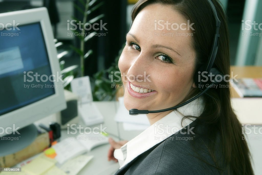 Help With a Smile royalty-free stock photo