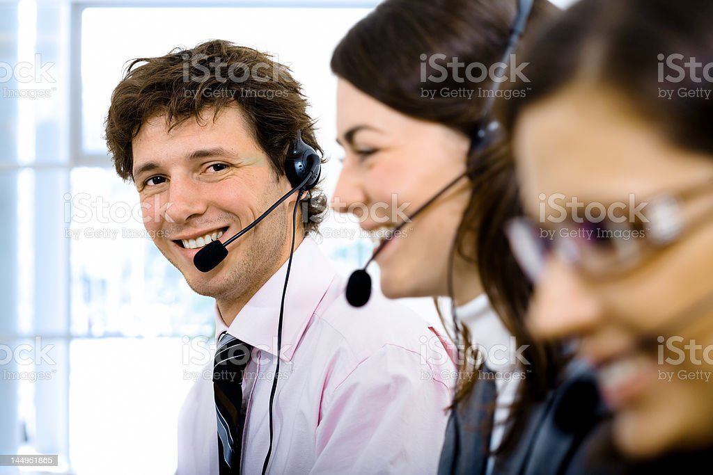 Helpdesk royalty-free stock photo