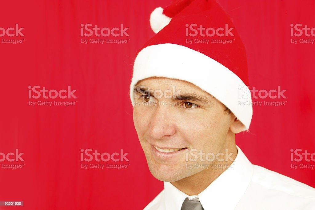 Helpful Christmas royalty-free stock photo