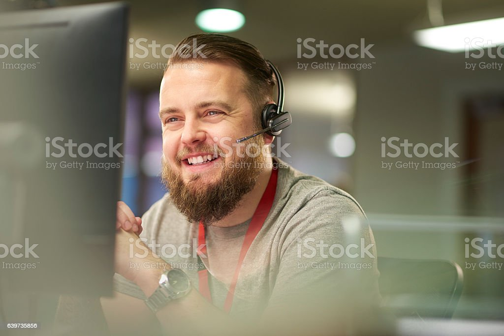 helpful customer service - foto stock