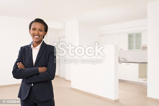istock Helpful real estate agent. 514936645