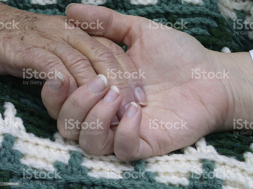 Helping Hand 01 royalty-free stock photo