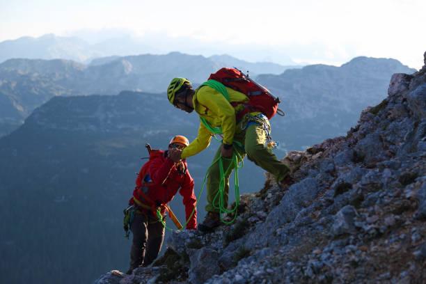 Helpieren in den Bergen – Foto