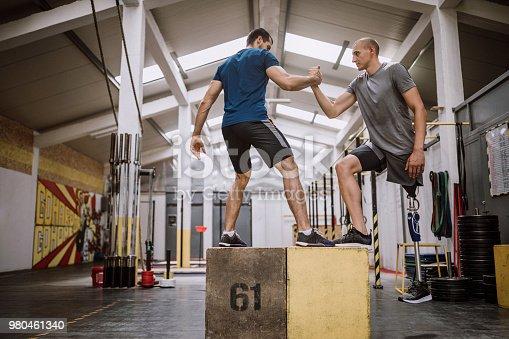 istock A Helping Hand Of Adaptive Athlete 980461340