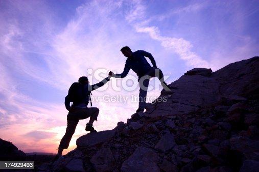 istock Helping hand 174929493