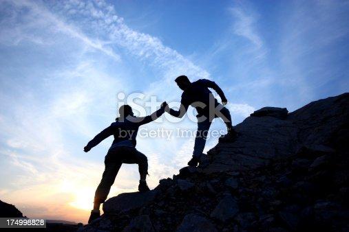 istock Helping hand 174998828