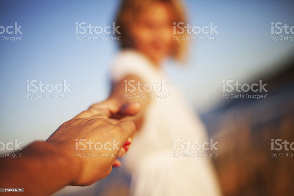 Helping hand - Royalty-free A Helping Hand Stock Photo