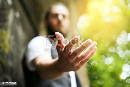 istock Helping hand. 547505668