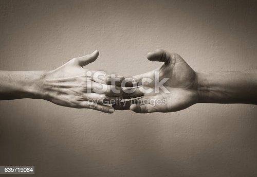 istock Helping hand 635719064