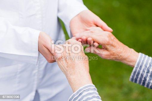 istock Helping hands 673692206